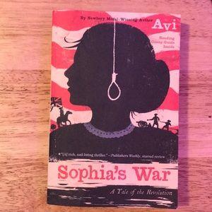 Sophia's War A tale of the revolution book